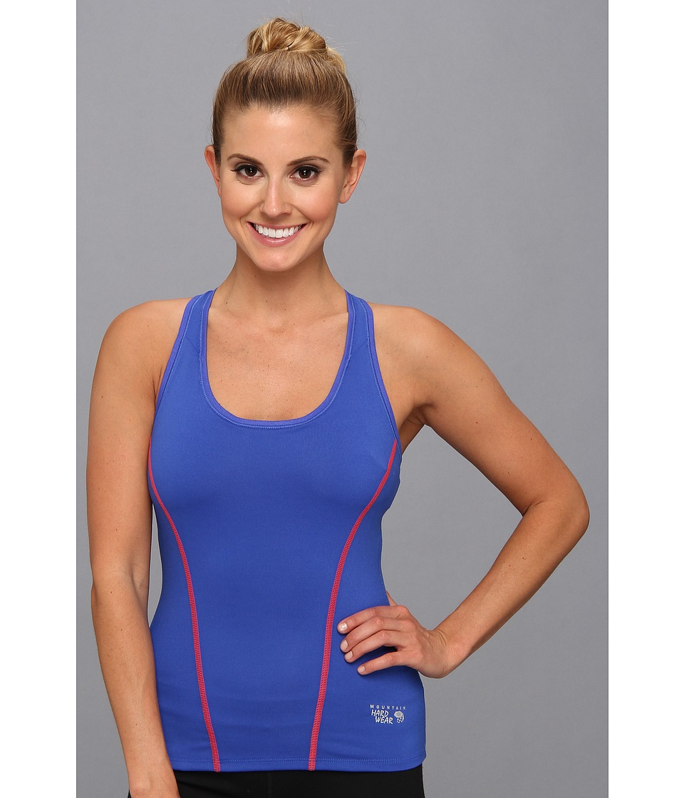Mountain Hardwear - Mightly Power Cooler Tank Top (Cornflower) Women's Sleeveless