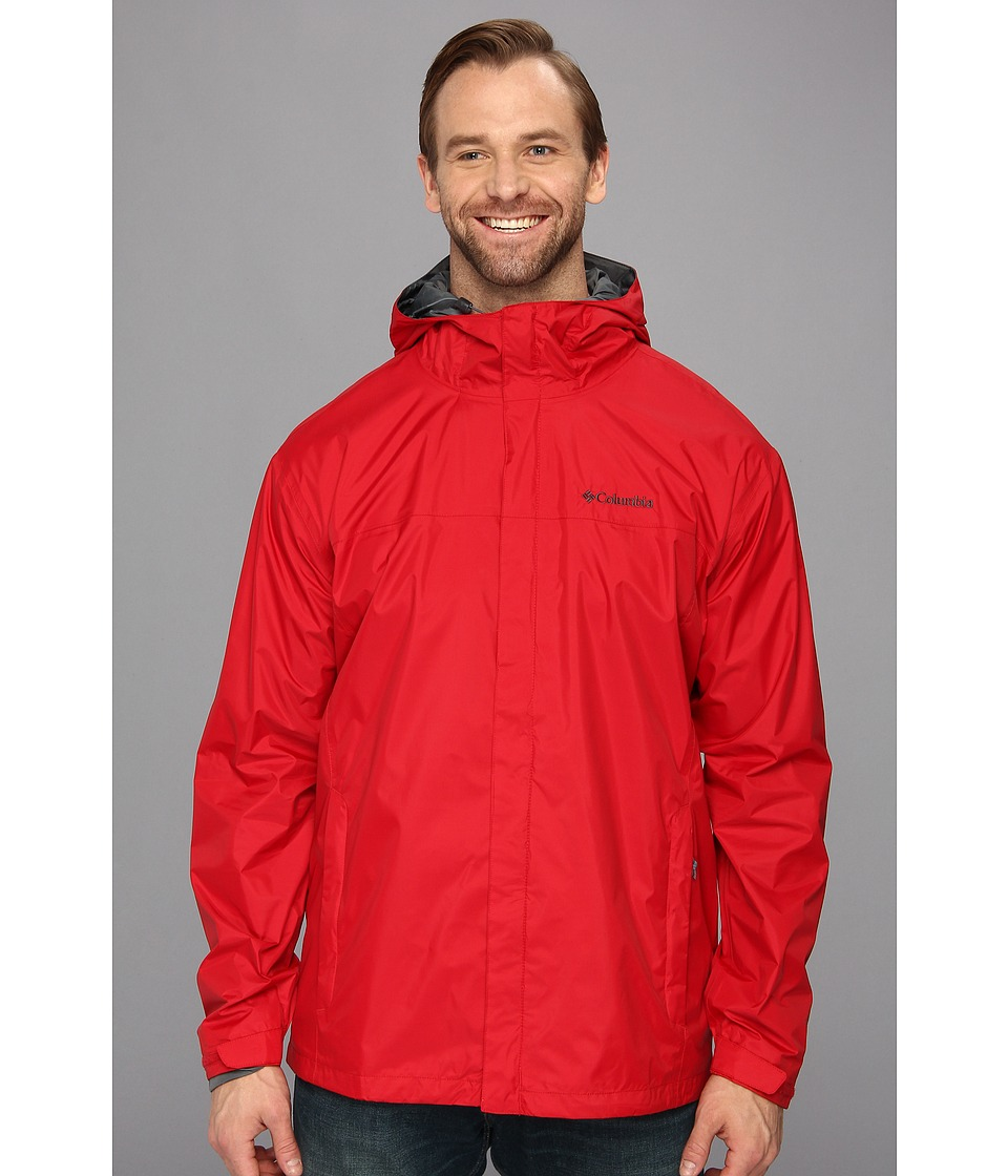 Columbia - Watertight II Jacket - Tall (Rocket) Men's Coat