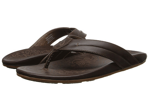 OluKai - Punono (Dark Java) Men's Sandals