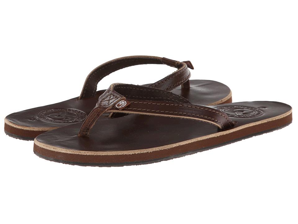 Ocean Minded - Makena Premium Flip (Brown) Women