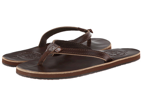 Ocean Minded - Makena Premium Flip (Brown) Women's Sandals