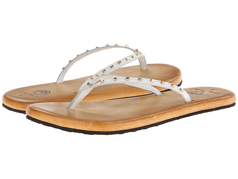 Ocean Minded - Oumi Luxe Flip (White/Gold) Women
