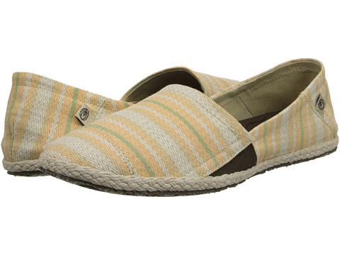 Ocean Minded - Espadrilla Slip-On (Tan/Mint) Women
