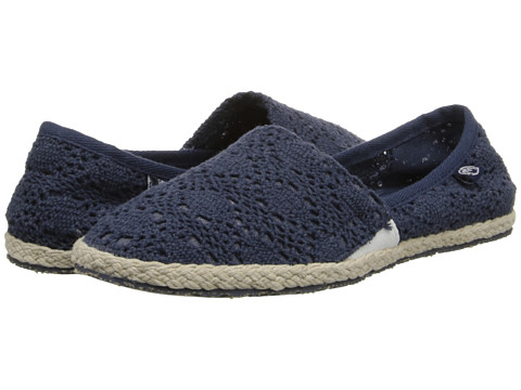 Ocean Minded - Espadrilla Slip-On (Navy/White) Women