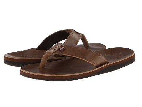 Ocean Minded - Mokulua Premium Flip (Natural) Men's Sandals