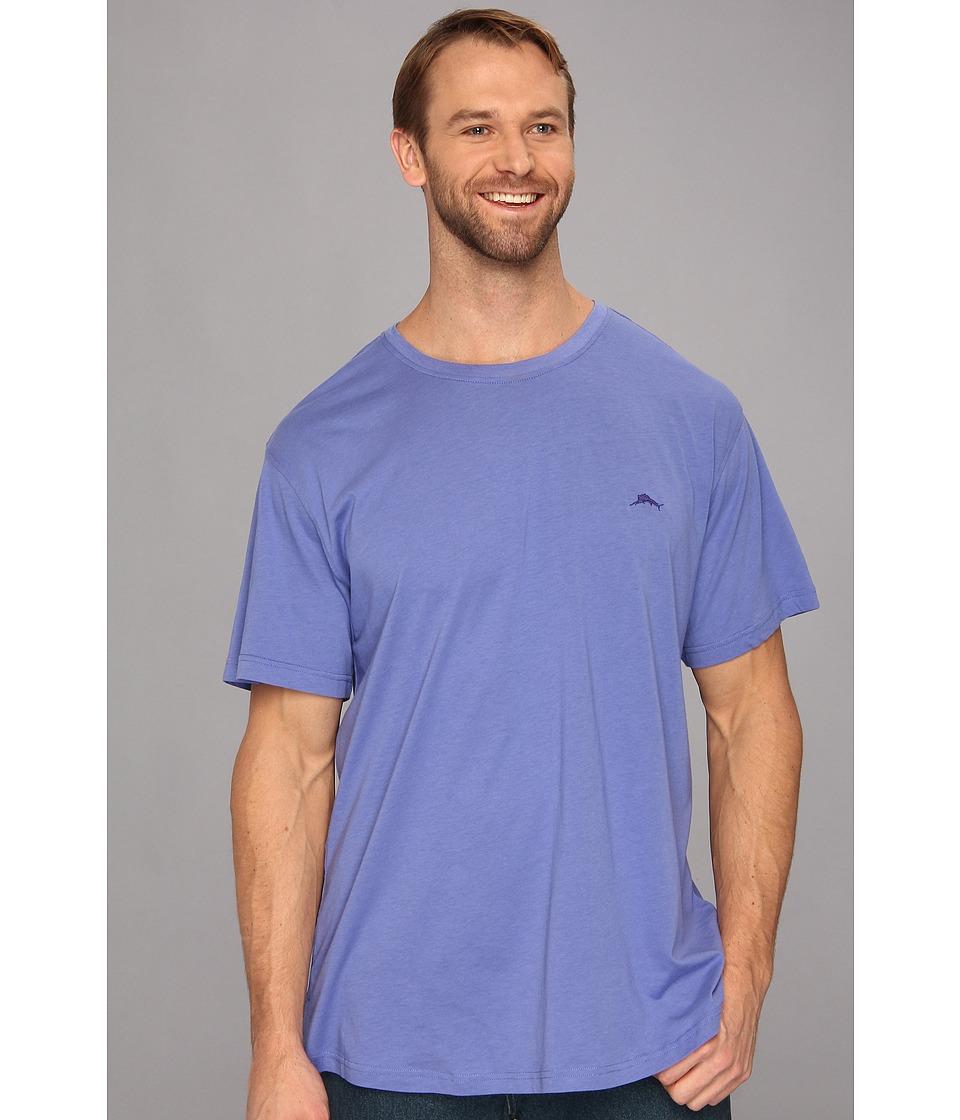 Tommy Bahama Big Tall Cotton Crew Neck Tee Mens T Shirt (Blue)