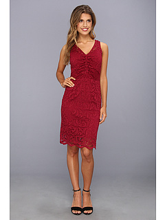 SALE! $61.99 - Save $76 on Velvet by Graham and Spencer Gizela02 V Neck Tank Dress (Rhumba) Apparel - 55.08% OFF $138.00