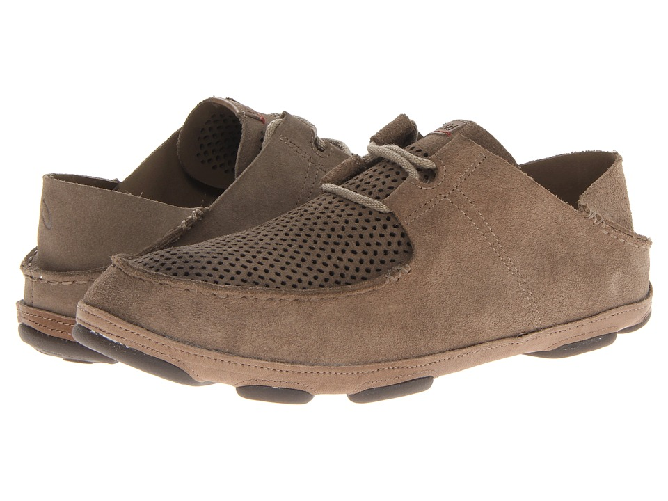 OluKai - Ohana Lace-Up Kohana (Clay/Clay) Men's Slip on Shoes