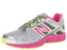 New Balance Kids 860v4 (Little Kid/Big Kid) (Grey/Pink)