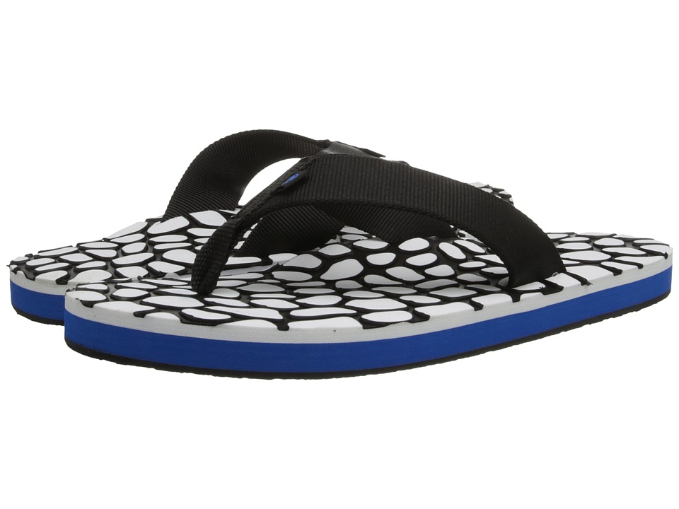 Ocean Minded - HonuBack (Black/Ocean) Men's Sandals