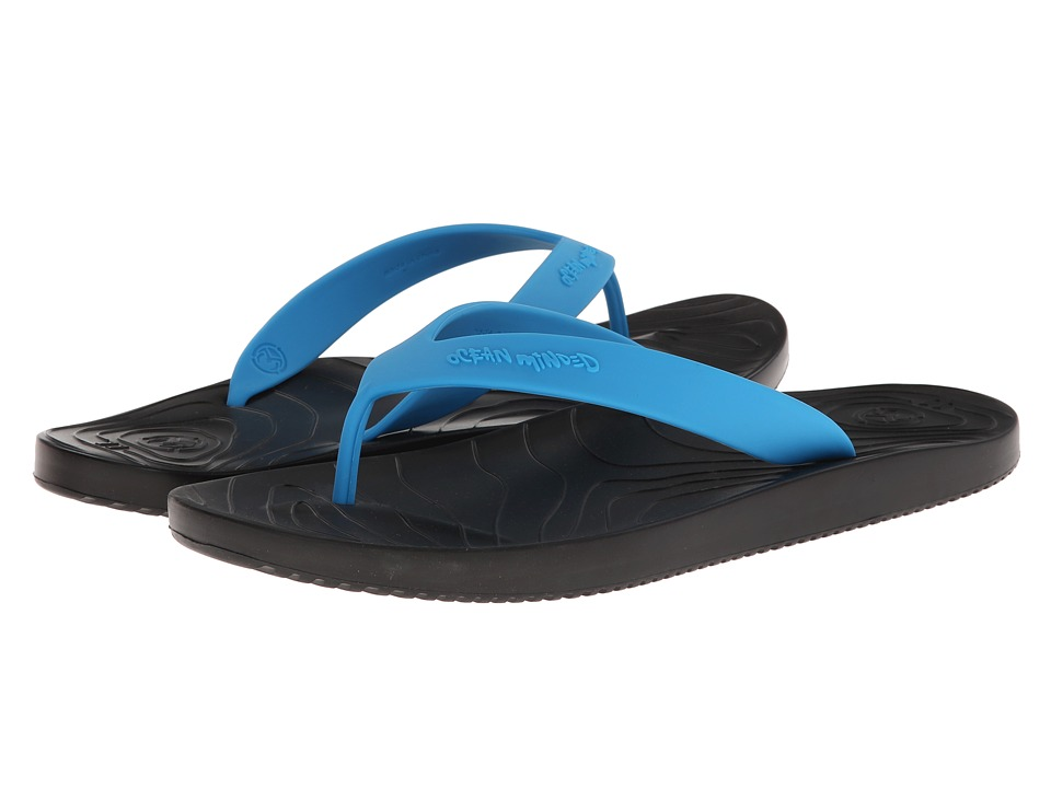 5d9b5b7bc791 ... UPC 674236422716 product image for Ocean Minded Manaia II (Black Ocean)  Men s Sandals ...