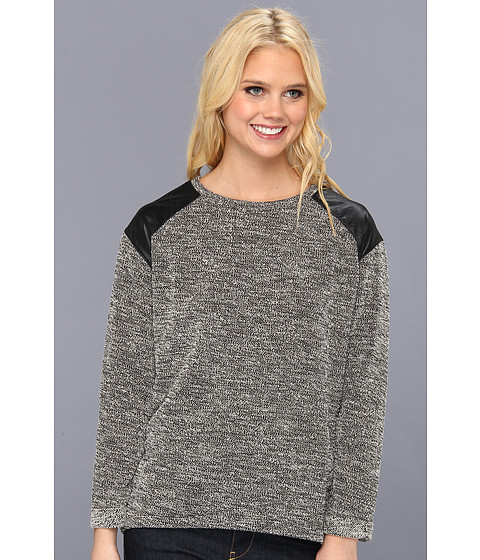 Sanctuary - Boucle Sweater (Black) Women's Sweater