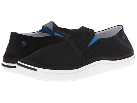 Ocean Minded Waveseeker II Slip On (Black/Ocean) Men's Slip on  Shoes