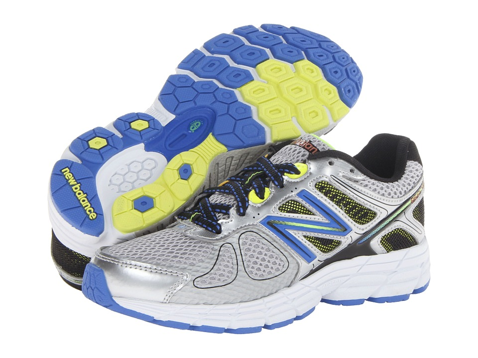 New Balance Kids - 860v4 (Little Kid/Big Kid) (Silver/Blue) Boys Shoes