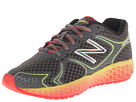 New Balance Kids Fresh Foam 980 (Little Kid/Big Kid) (Grey/Yellow)
