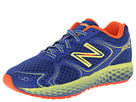 New Balance Kids Fresh Foam 980 (Little Kid/Big Kid) (Blue/Yellow)