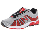 New Balance Kids 890v4 (Little Kid) (Silver/Red)