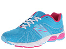 New Balance Kids 890v4 (Big Kid) (Blue/Pink)