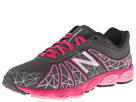New Balance Kids 890v4 (Big Kid) (Grey/Pink)