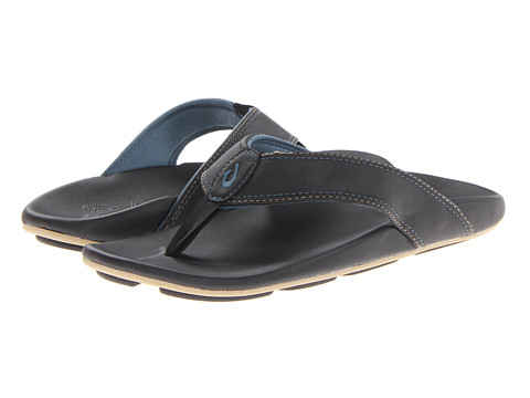 OluKai - Kikaha (Black/Pale Ocean) Men