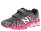 New Balance Kids KG890v4 (Little Kid) (Grey/Pink)