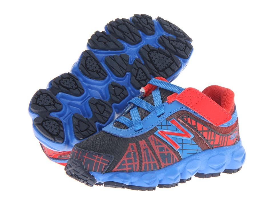 New Balance Kids - KV890v4 (Infant/Toddler) (Blue/Red) Boys Shoes