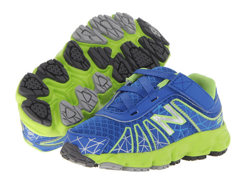 New Balance Kids - KV890v4 (Infant/Toddler) (Blue/Green) Boys Shoes