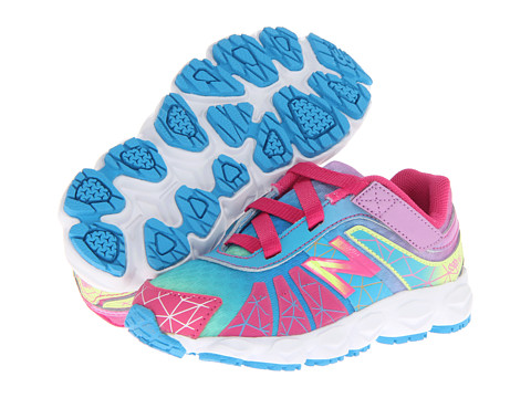 New Balance Kids - KV890v4 (Infant/Toddler) (Rainbow) Girls Shoes