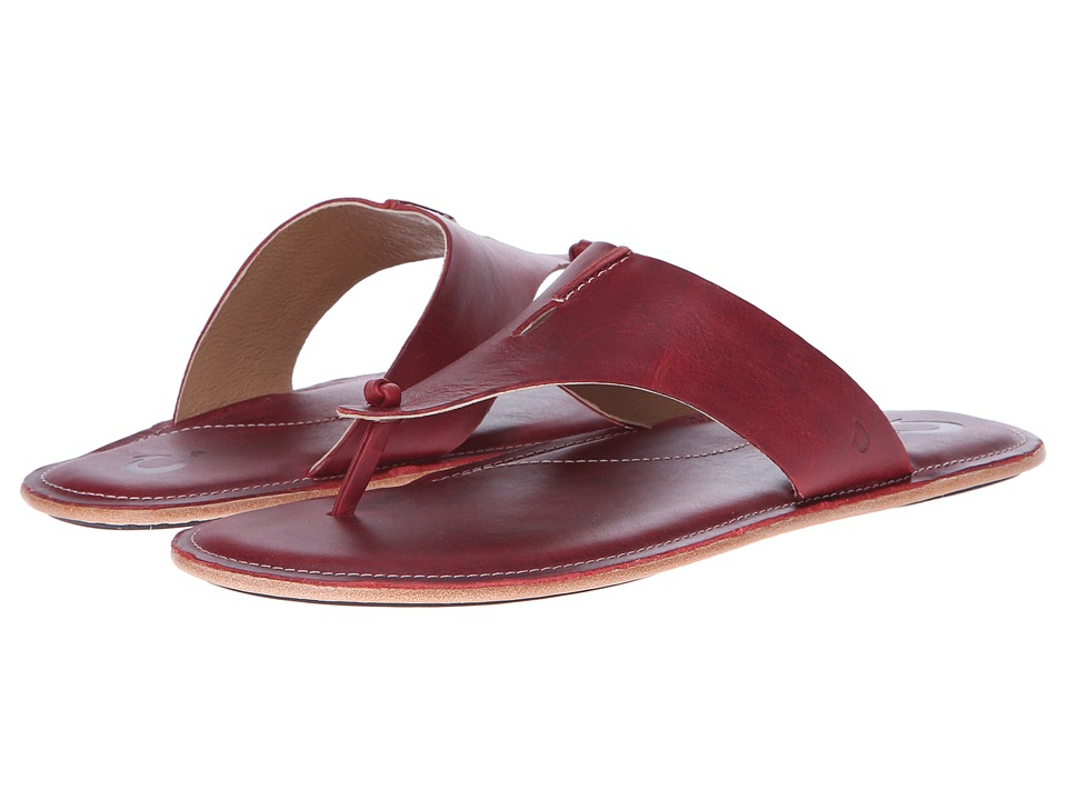 OluKai - Hema (Cardinal/Ginger) Women's Sandals