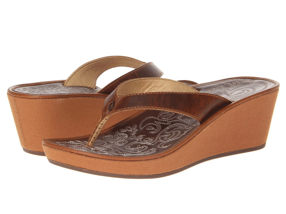 OluKai - Kaula Lio (Natural/Natural) Women's Sandals