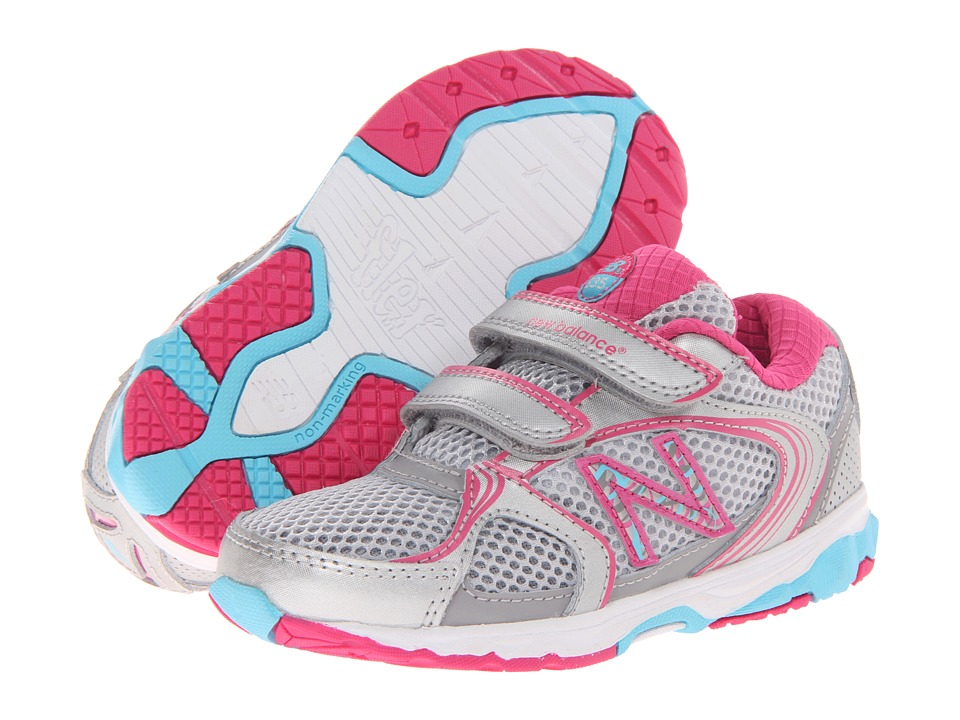 New Balance Kids - KG635 (Infant/Toddler) (Pink/Blue) Girls Shoes