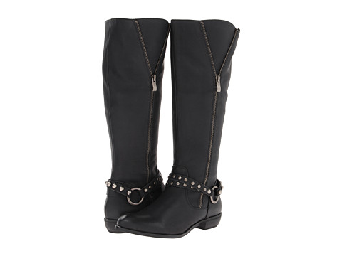 VOLATILE - Caged (Black) Women's Boots