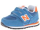 New Balance Kids KV574 (Toddler) (Blue/Orange)