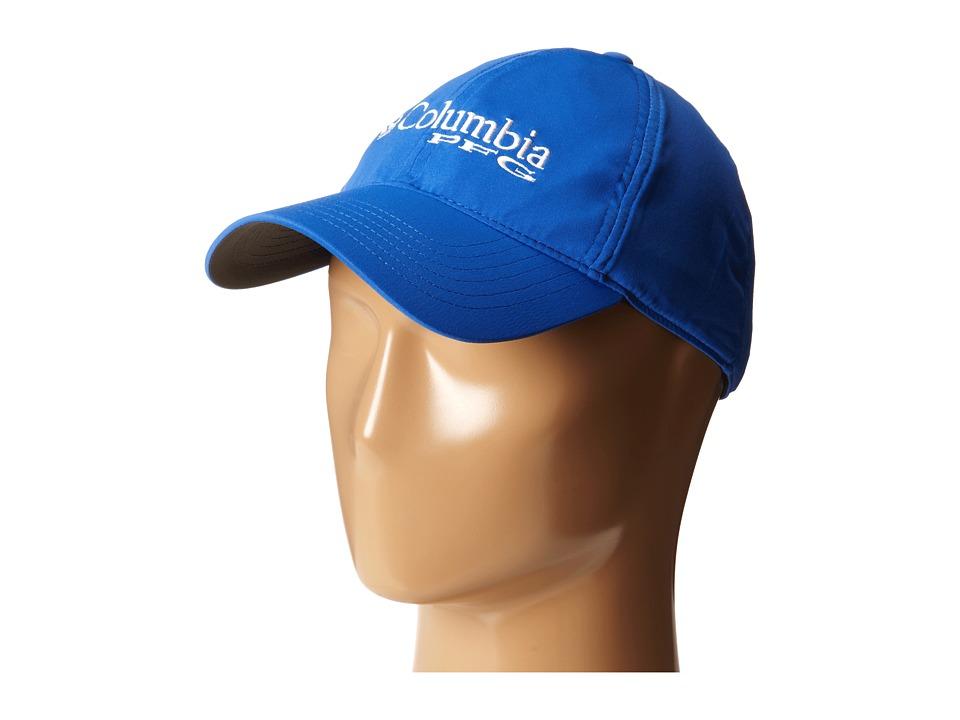 Columbia - M Coolhead Ball Cap III (Vivid Blue/PFG Logo) Caps