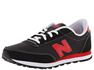 New Balance Kids 501 (Little Kid/Big Kid) (Black/Red)