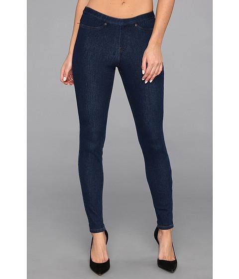 HUE - Original Jeanz Legging (Navy Denim) Women's Casual Pants