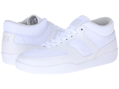 Lacoste - Half Court W51 (White/White) Men's Shoes