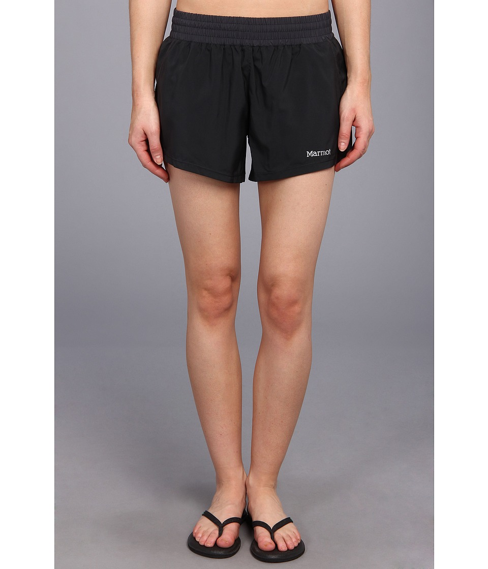 Marmot - Mobility Short (Black/Dark Steel) Women's Shorts