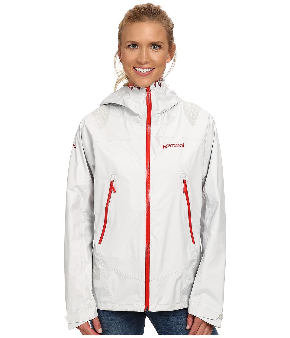 Marmot - Super Mica Jacket (Glacier Grey) Women's Coat