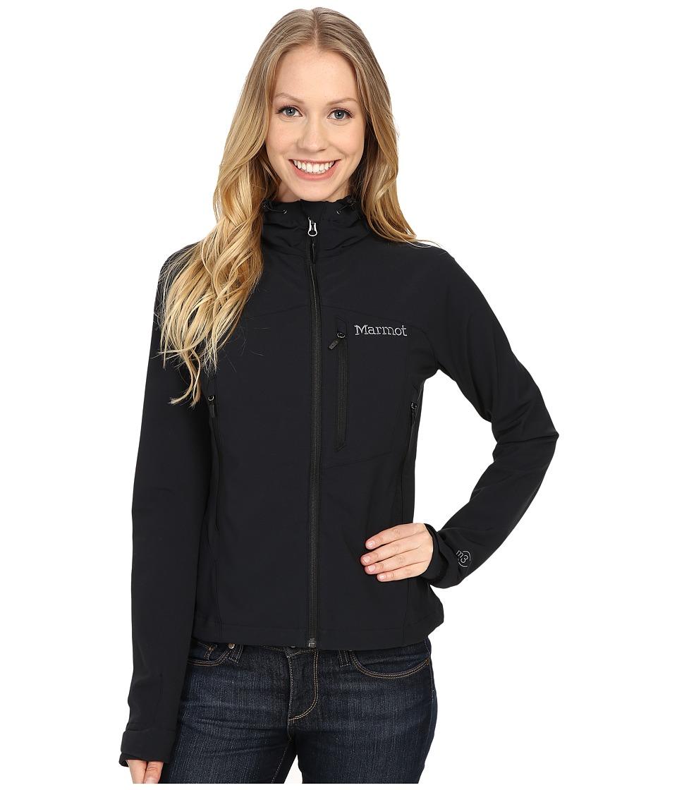 Marmot - Estes Hoodie (Black) Women's Sweatshirt