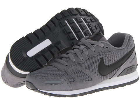 Nike - Air Waffle Trainer (Cool Grey/Anthracite/Light Base Grey/Black) Men's Lace up casual Shoes