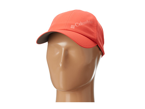 Columbia - Silver Ridge Ball Cap (Red Hibiscua/Hot Coral) Baseball Caps