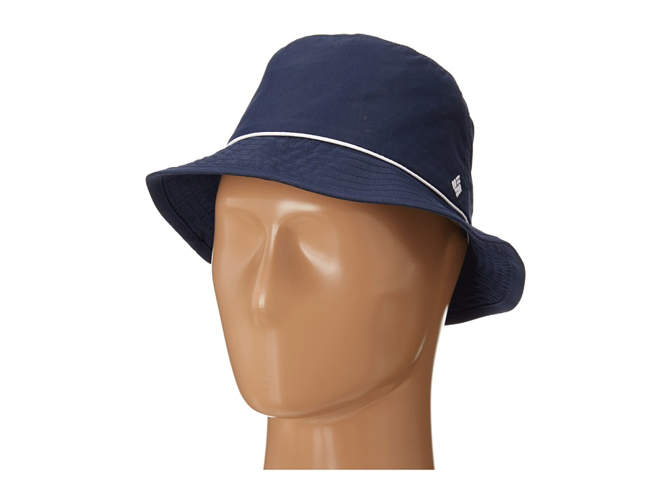 Columbia - Bahama Bucket Hat (Collegiate Navy/White) Bucket Caps