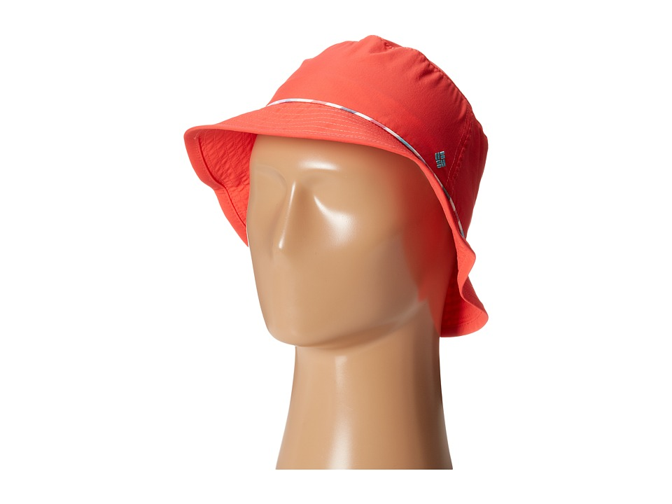 Columbia - Bahama Bucket Hat (Red Hibiscua/Red Hibiscus Plaid) Bucket Caps