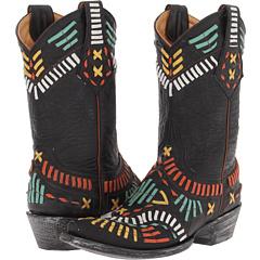 Old Gringo Apache (Black) Footwear