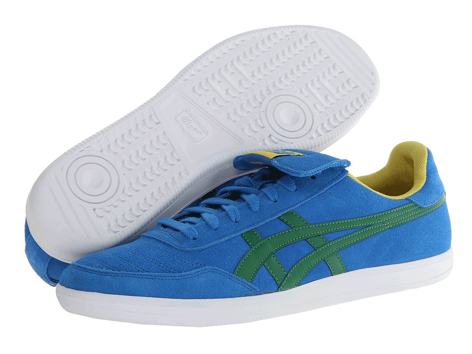 Onitsuka Tiger by Asics - Hulse (Mid Blue/Green) Athletic Shoes