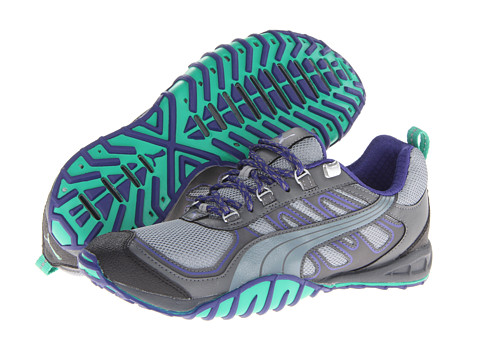 UPC 887121632323 product image for PUMA Fells Trail (Tradewinds Steel  Gray Black) ... 1a5146242