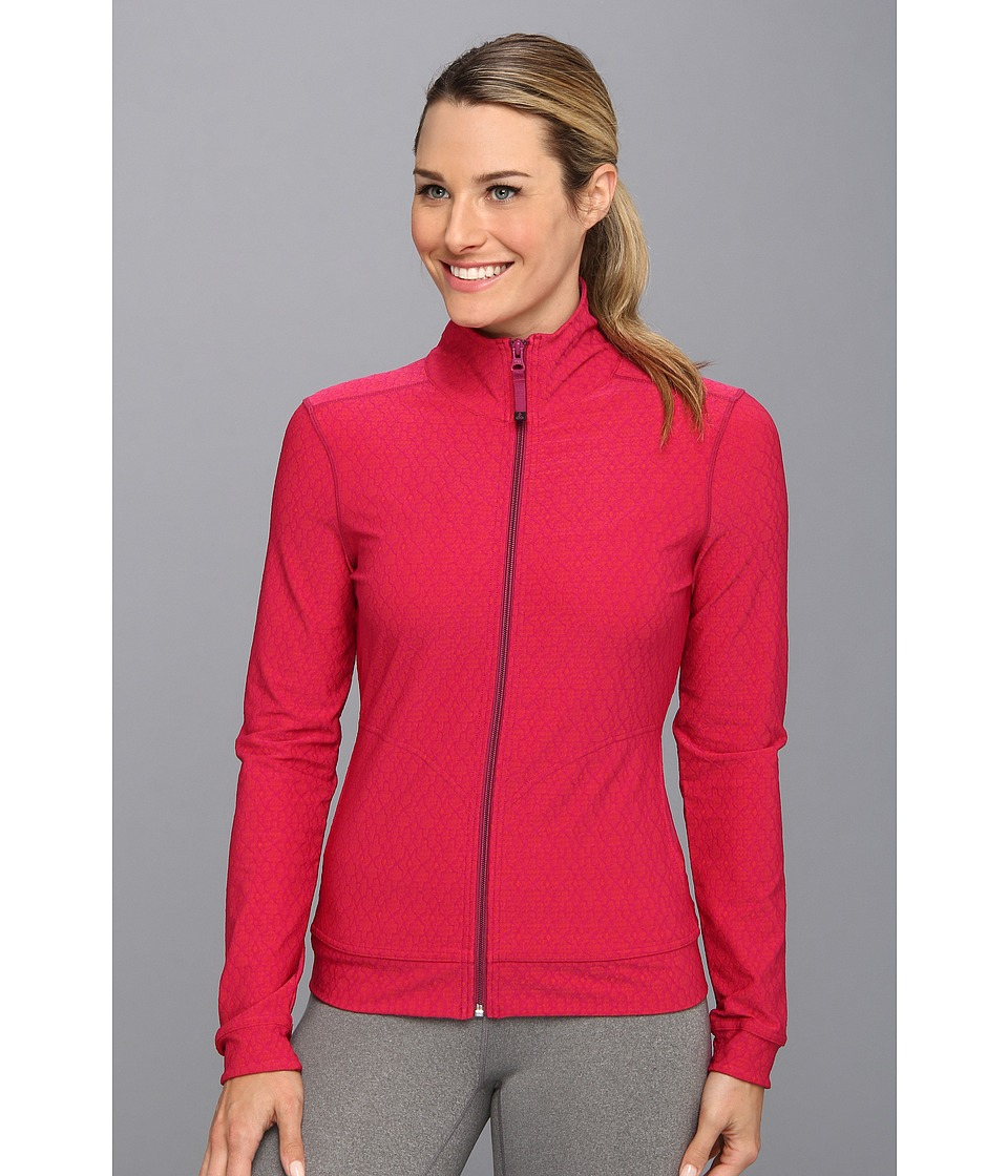 Prana - Randa Jacket (Boysenberry Jacquard) Women