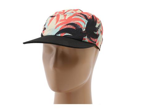 Vans - Telegraph Camper (Palm Camo) Baseball Caps