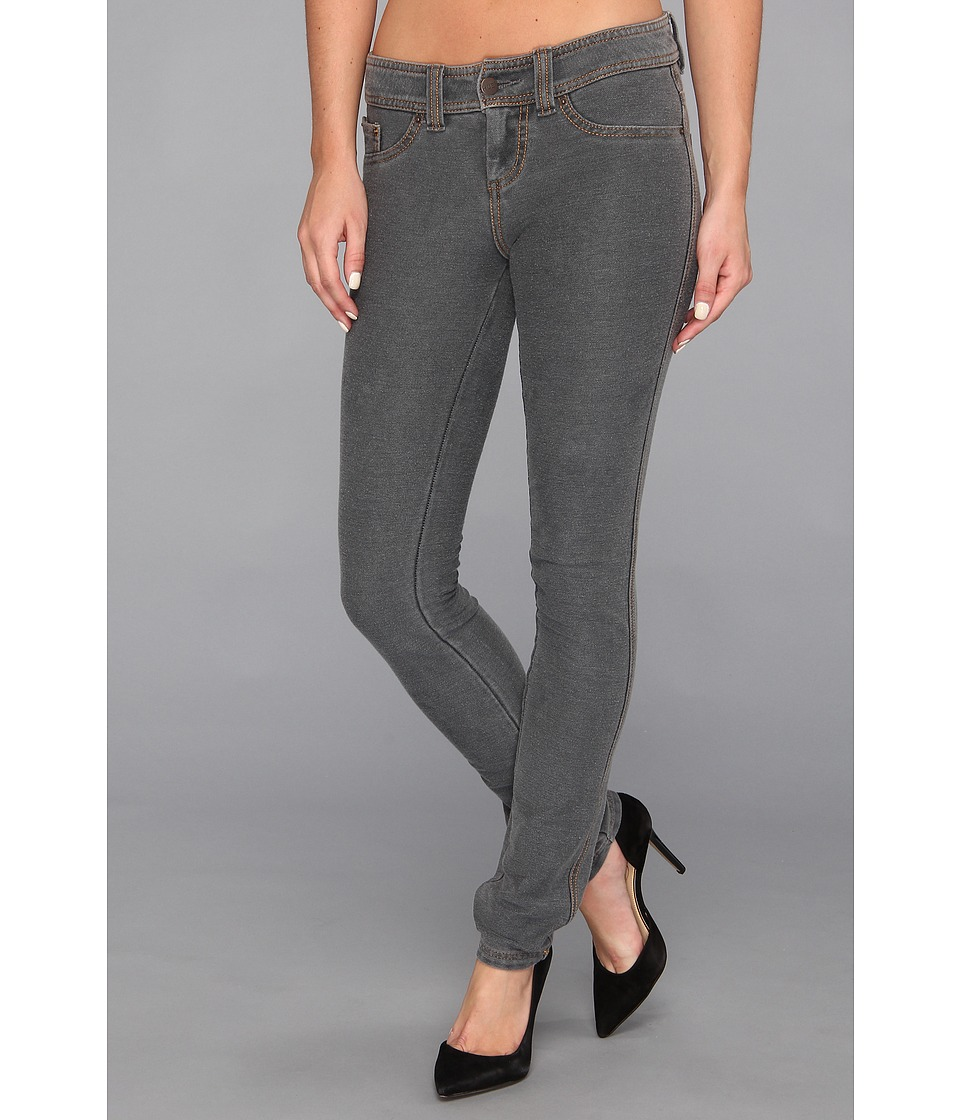 HUE - Authentic Jeans Leggings (Medium Grey) Women's Clothing